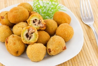 Potato croquet with Meat - 12 pieces